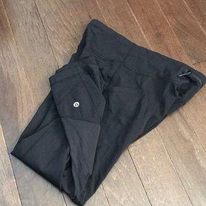 Black Lululemon Ankle Pants
